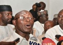 APC National Chairman, Adams Oshiomole Photo: Oriental Times