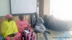 Panelist Alhaji Alkali discussing on the need for family planning in Kano State.
