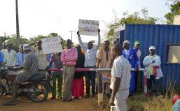 Kwara football academy workers protest over unpaid salaries