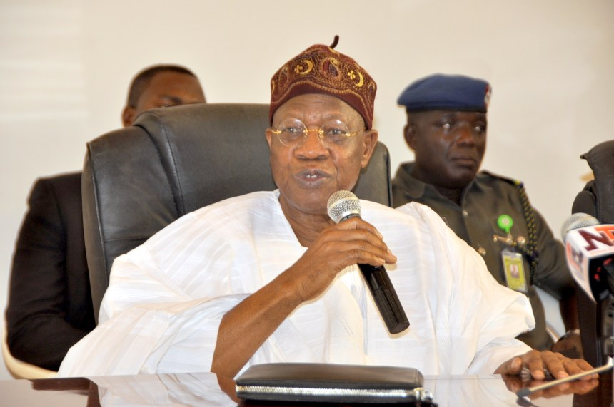 Image result for Lai Mohammed Says His Appointment Was Made Possible By President