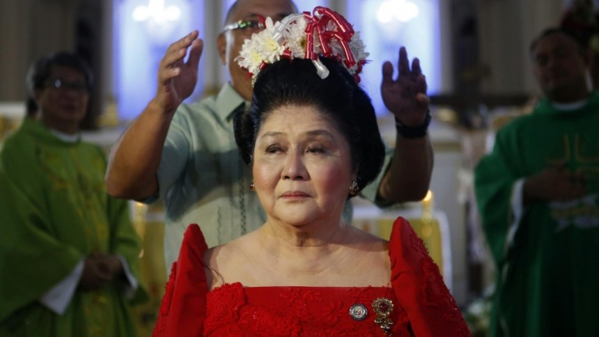 Former Philippines first lady Imelda Marcos. [PHOTO CREDIT: South China Morning Post]