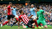 The Manchester City Match with Southampton FC