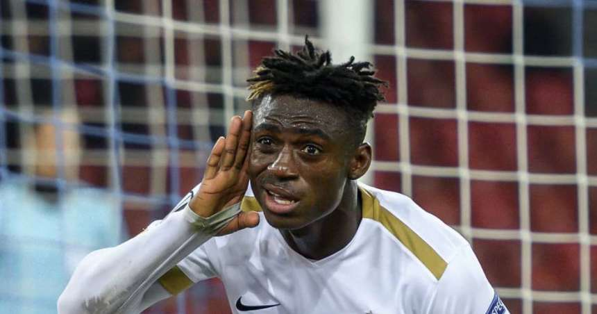 FC Zurich's Stephen Odey (Photo Credit: Pulse.ng)