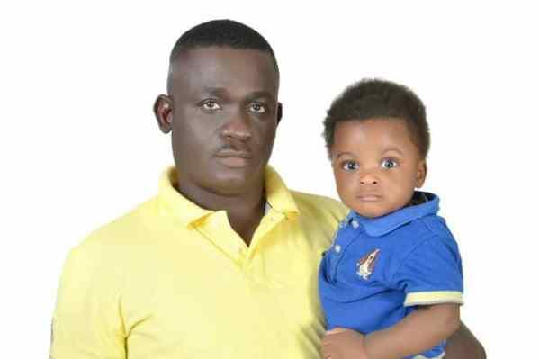 Late Ibrahim Sakaba and his son