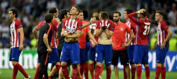 Atletico Madrid players [Photo: The Naked Convos]