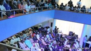 Participants present at the event. Participants present at the event.