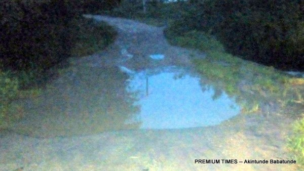 Flood in Awere