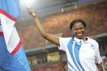 Reigning African champion, Ese Brume