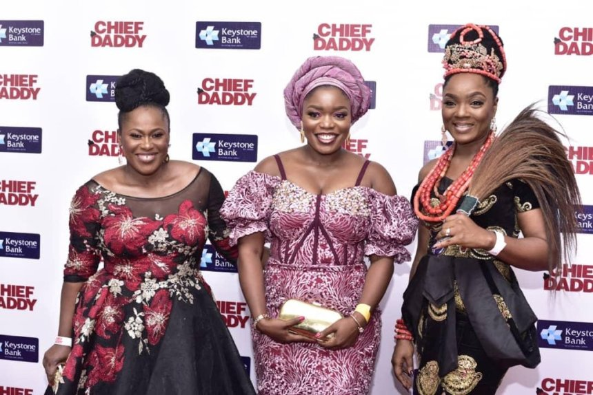 Premier of the movie, CHief Daddy. [PHOTO CREDIT: The Guardian Nigeria]