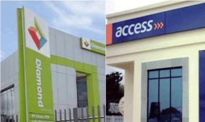 Diamond Bank and Acess Bank