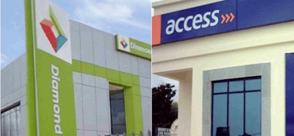 Diamond Bank and Acess Bank