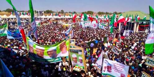 Atiku Abubakar Presidential rally in Sokoto
