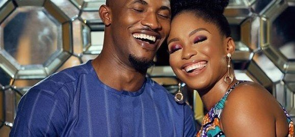 Gideon Okeke and Chidera (Photo Credit: Kemi Filani News)