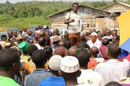 Abiodun Bamigboye, the gubernatorial candidate of Socialist Party of Nigeria (SPN)