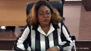 Newly INEC sworn secretary, Rose Orianran-Anthony.