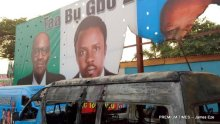 Enugu APC campaign office attacked, buses burnt