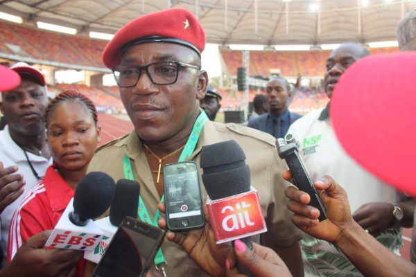 Minister of Sports, Solomon Dalung