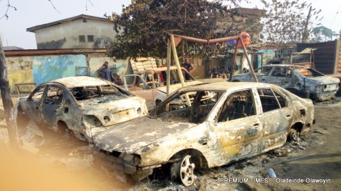 Explosion rocks Abule Egba, Lagos