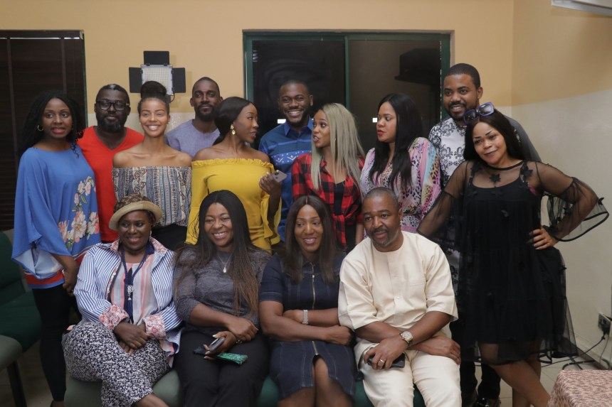 Cast and Crew of 'Two Weeks in Lagos'.