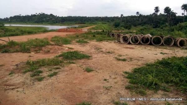 The Iragbiji earth dam