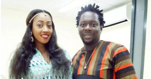 Comedian Klint D Drunk and his wife Lilien
