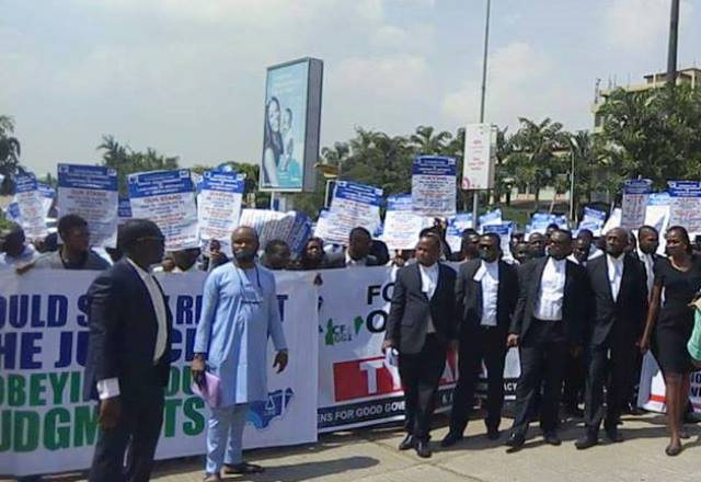 Lawyers protest killing of colleagues in Ekiti state