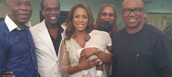 Leo Stan Eke, Linda Ikeji and Peter Obi
