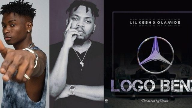 Lil Kesh, Olamide and Logo Benz album art