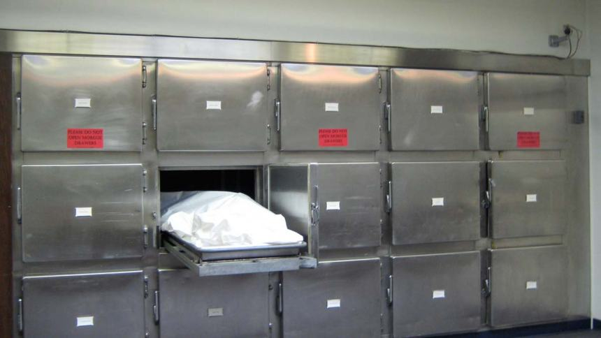 A Mortuary used to illustrate the story
