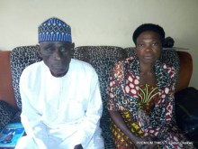 Mr and Mrs Michael Ogbanje, parents of the deceased