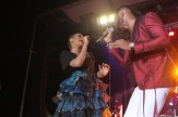 Flavour and Chidinma on stage