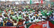 A political rally used to illustrate the story. [PHOTO CREDIT: Nairaland Forum]