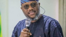 The governorship candidate of Allied Peoples Movement, (APM), Adekunle Akinlade