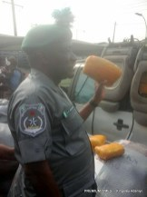 Nigerian Custom officers