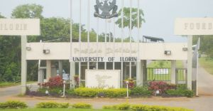 UNILORIN gate used to illustrate the story.
