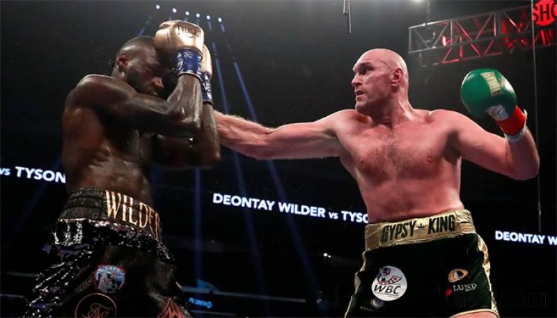 Resultado de imagen para Deontay Wilder vs. Tyson Fury