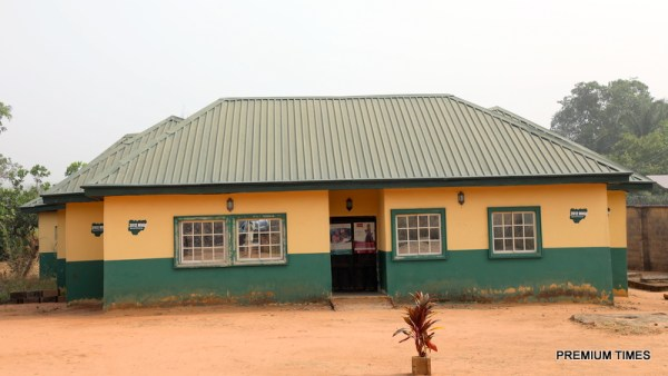 A primary healthcare centre in one of the communities in Enugu West