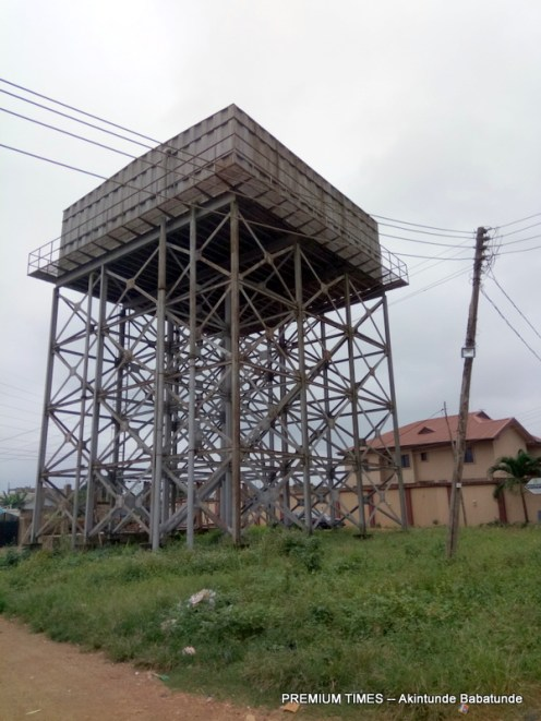 Abandoned Reservoir in Panseke