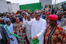 President Buhari commissions Ariaria Market Independent Power Project in Abia State on 29th Jan 2019