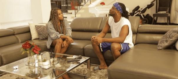 Paul Okoye of Psquare and NEny B of MTV Base's Celeb Living