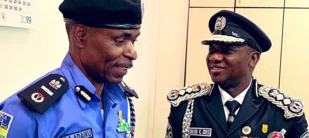 IGP Ibrahim Idris and Mohammed Adamu