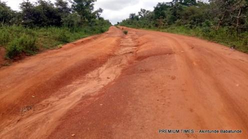 Igboho -Kishi Road, abandoned despite millions of naira spent on it