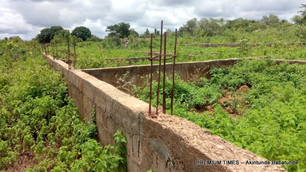 Foundation of the proposed Health Care Centre