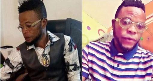 Adewale Olarenwaju, aka 'Ishow Larry' [Photo: Daily Advent Nigeria]