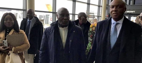 Atiku in America first time in 12 years. [PHOTO CREDIT: Facebook Page of Paul Ibe.]