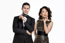 Sandra Oh and Adam Samberg (Photo Credit: Vox)