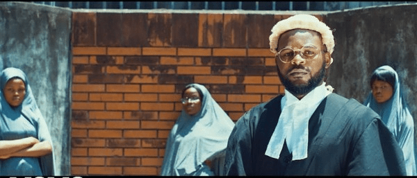 Screenshots from Falz's Talk track