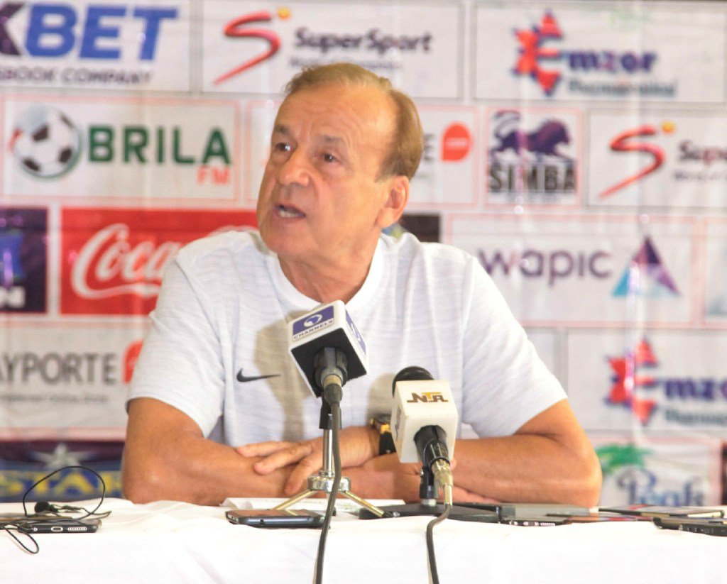 Rohr satisfied with Eagles third place at AFCON 2019