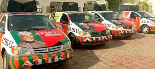PDP branded van