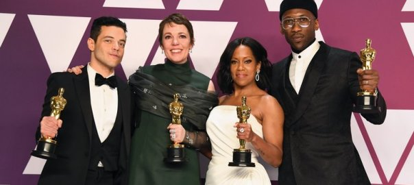 2019 Oscar Award winners photos courtesy Oscars